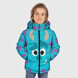 Куртка зимняя для мальчика Джеймс Салливан цвета 3D-черный — фото 2