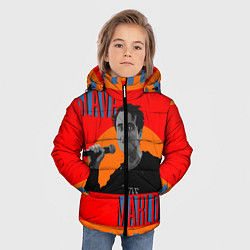 Куртка зимняя для мальчика SLAVA MARLOW цвета 3D-черный — фото 2