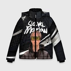 Куртка зимняя для мальчика SLAVA MARLOW АРТЁМ ГОТЛИБ цвета 3D-черный — фото 1
