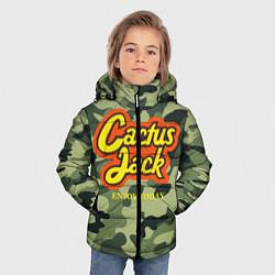 Куртка зимняя для мальчика Cactus Jack цвета 3D-черный — фото 2