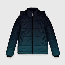 Куртка зимняя для мальчика GRADIENT цвета 3D-черный — фото 1