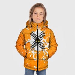 Куртка зимняя для мальчика Brazzers цвета 3D-черный — фото 2