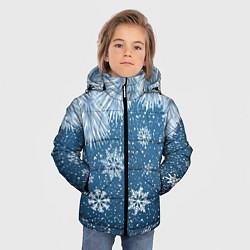 Куртка зимняя для мальчика Снежное Настроенние цвета 3D-черный — фото 2