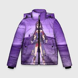Куртка зимняя для мальчика Юки Конно цвета 3D-черный — фото 1
