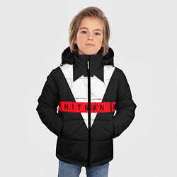Куртка зимняя для мальчика Hitman III цвета 3D-черный — фото 2