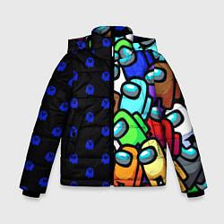 Зимняя куртка для мальчика Among Us Brawl Stars