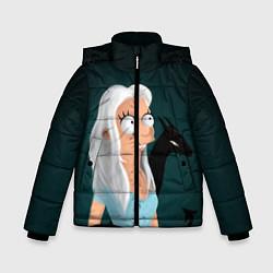 Куртка зимняя для мальчика Разочарование цвета 3D-черный — фото 1