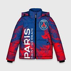 Куртка зимняя для мальчика ФК ПСЖ PARIS SAINT GERMAIN цвета 3D-черный — фото 1