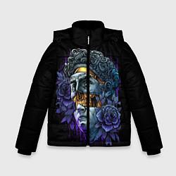 Куртка зимняя для мальчика David Skull цвета 3D-черный — фото 1