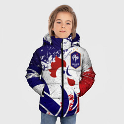 Куртка зимняя для мальчика Сборная Франции цвета 3D-черный — фото 2