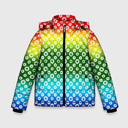Куртка зимняя для мальчика Для фотографов RGB Диафрагма цвета 3D-черный — фото 1