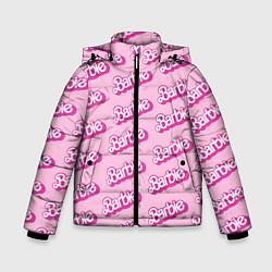 Куртка зимняя для мальчика Barbie Pattern цвета 3D-черный — фото 1