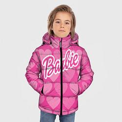 Куртка зимняя для мальчика Barbie цвета 3D-черный — фото 2