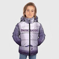 Куртка зимняя для мальчика Imagine Dragons: Silence цвета 3D-черный — фото 2