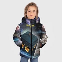 Куртка зимняя для мальчика Police Box цвета 3D-черный — фото 2