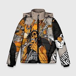 Куртка зимняя для мальчика Metallica: Guitar Hero - фото 1