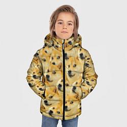 Куртка зимняя для мальчика Doge цвета 3D-черный — фото 2