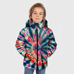 Куртка зимняя для мальчика Tie dye - фото 2