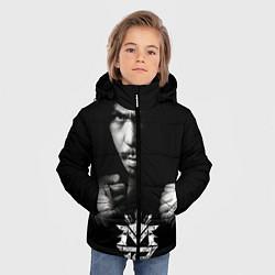 Куртка зимняя для мальчика Менни Пакьяо - фото 2
