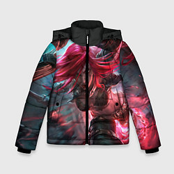 Куртка зимняя для мальчика League of legends цвета 3D-черный — фото 1