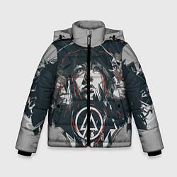 Куртка зимняя для мальчика Linkin Park: My Style цвета 3D-черный — фото 1