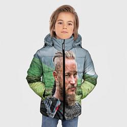Детская зимняя куртка для мальчика с принтом Рагнар Лодброк, цвет: 3D-черный, артикул: 10073056406063 — фото 2