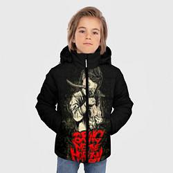 Детская зимняя куртка для мальчика с принтом Bring Me The Horizon, цвет: 3D-черный, артикул: 10073644106063 — фото 2
