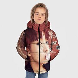 Детская зимняя куртка для мальчика с принтом J-Hope, цвет: 3D-черный, артикул: 10076886506063 — фото 2