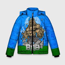 Детская зимняя куртка для мальчика с принтом ВДВ, цвет: 3D-черный, артикул: 10077774806063 — фото 1