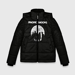 Детская зимняя куртка для мальчика с принтом Imagine Dragons: Moon, цвет: 3D-черный, артикул: 10078925606063 — фото 1