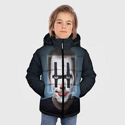 Детская зимняя куртка для мальчика с принтом Clown House MD, цвет: 3D-черный, артикул: 10079018306063 — фото 2