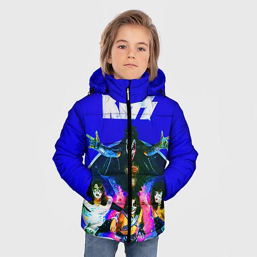 Зимняя куртка для мальчика Kiss Show / 3D-Черный – фото 3