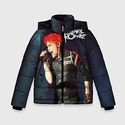 Куртка зимняя для мальчика Gerard Way цвета 3D-черный — фото 1