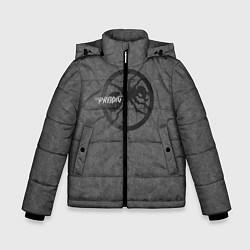 Куртка зимняя для мальчика The Prodigy: Dark Asphalt цвета 3D-черный — фото 1