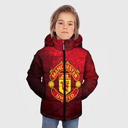 Куртка зимняя для мальчика Манчестер Юнайтед - фото 2