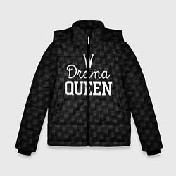 Куртка зимняя для мальчика Drama queen цвета 3D-черный — фото 1