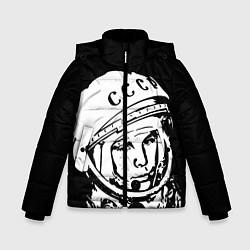 Куртка зимняя для мальчика Гагарин цвета 3D-черный — фото 1