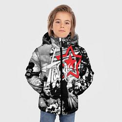 Куртка зимняя для мальчика 9 мая 7 цвета 3D-черный — фото 2