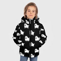 Куртка зимняя для мальчика Undertale Annoying dog цвета 3D-черный — фото 2