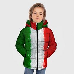 Куртка зимняя для мальчика Italian цвета 3D-черный — фото 2