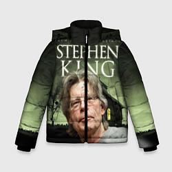 Детская зимняя куртка для мальчика с принтом Bestselling Author, цвет: 3D-черный, артикул: 10095786806063 — фото 1