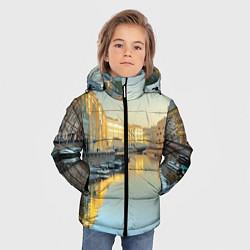 Куртка зимняя для мальчика Питер цвета 3D-черный — фото 2