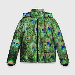 Куртка зимняя для мальчика Life is beautiful цвета 3D-черный — фото 1