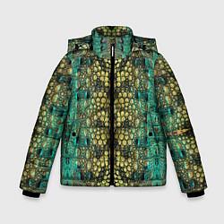 Куртка зимняя для мальчика Крокодил - фото 1