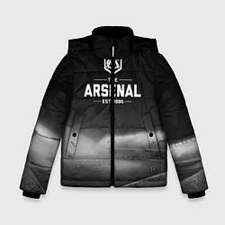 Куртка зимняя для мальчика The Arsenal 1886 цвета 3D-черный — фото 1