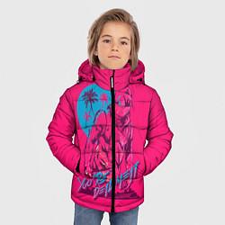 Куртка зимняя для мальчика You're dead meat цвета 3D-черный — фото 2