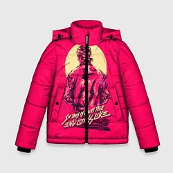 Куртка зимняя для мальчика End looks likes цвета 3D-черный — фото 1