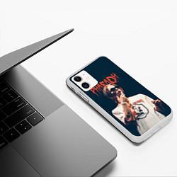 Чехол iPhone 11 матовый Pharaoh цвета 3D-белый — фото 2