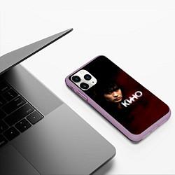 Чехол iPhone 11 Pro матовый Кино цвета 3D-сиреневый — фото 2