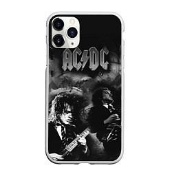 Чехол iPhone 11 Pro матовый AC/DC цвета 3D-белый — фото 1
